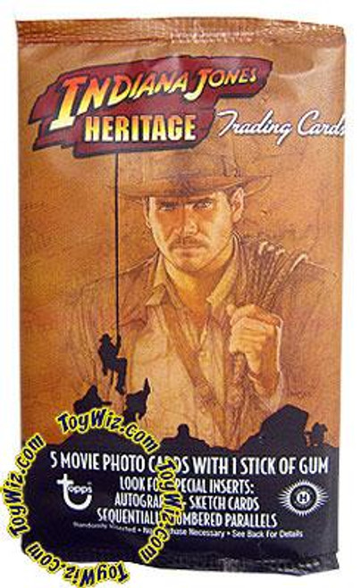 Indiana Jones Heritage Trading Card Pack [Hobby Edition]