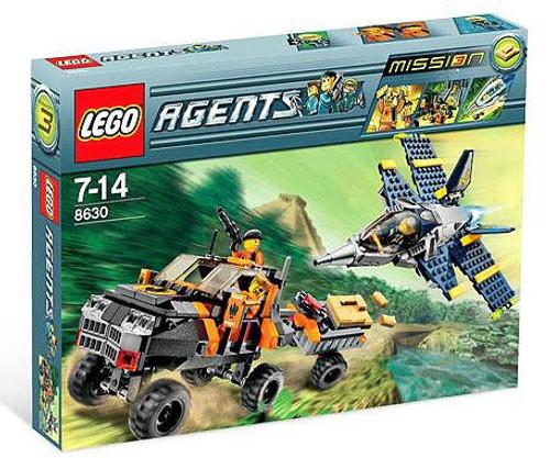 LEGO Agents Mission 3: Gold Hunt Set #8630