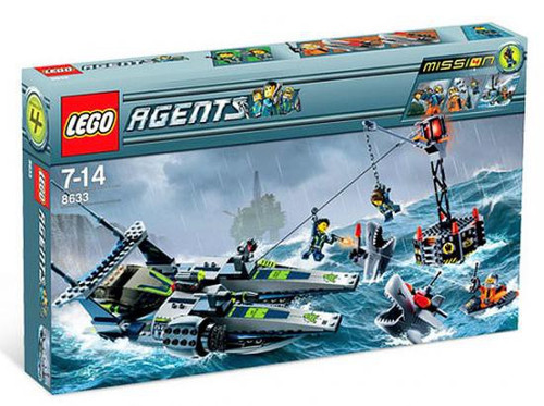 LEGO Agents Mission 4: Speedboat Rescue Set #8633