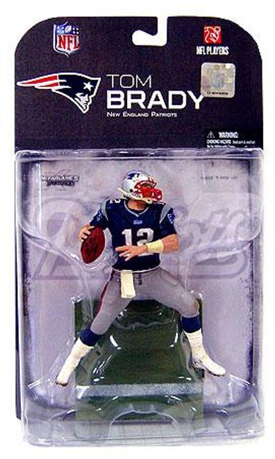 McFarlane Toys NFL New England Patriots Sports Picks Series 18 Tom Brady Action Figure [Dirty Pants]