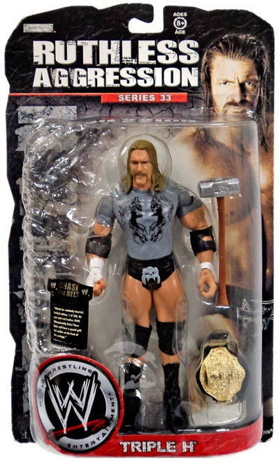 WWE Wrestling Ruthless Aggression Series 33 Triple H Action Figure