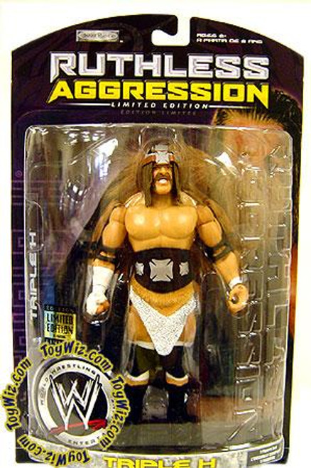WWE Wrestling Ruthless Aggression Limited Editions King of Kings Triple H Exclusive Action Figure