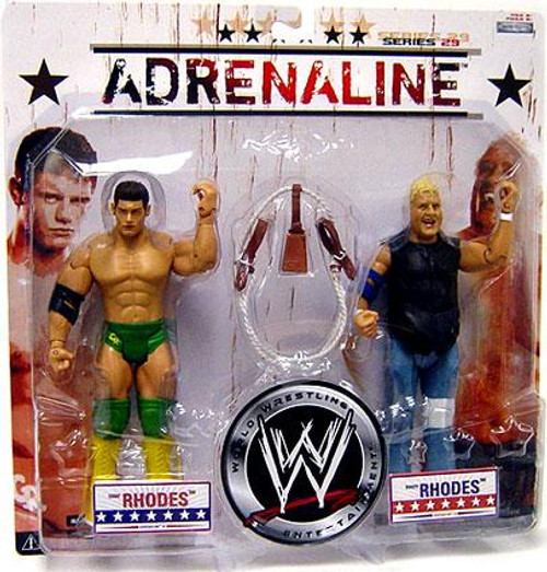 WWE Wrestling Adrenaline Series 29 Cody & Dusty Rhodes Action Figure 2-Pack