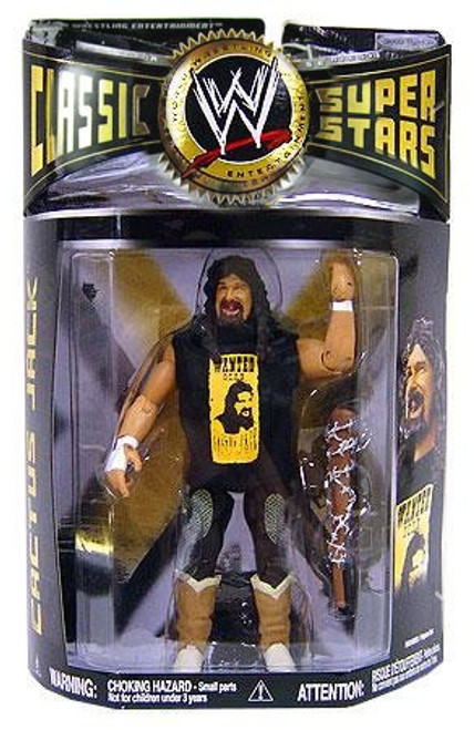 WWE Wrestling Classic Superstars Series 19 Cactus Jack Action Figure