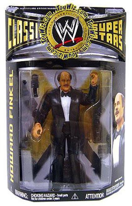 WWE Wrestling Classic Superstars Series 19 Howard Finkel Action Figure