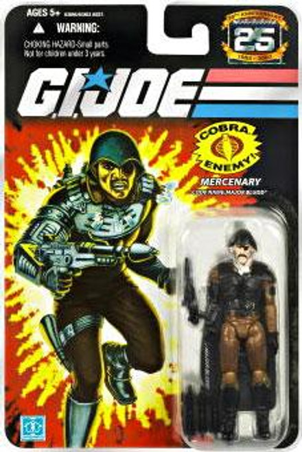 GI Joe 25th Anniversary Wave 8 Major Bludd Action Figure