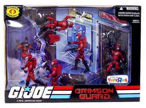 GI Joe Cobra Crimson Guard Exclusive Action Figure Set