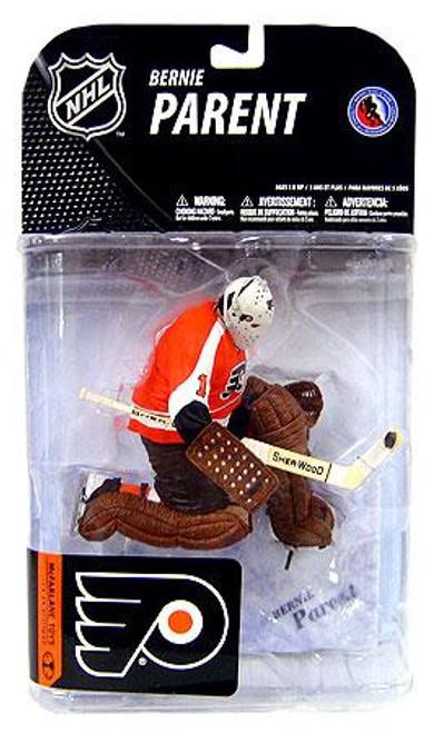 McFarlane Toys NHL Philadelphia Flyers Sports Picks Series 19 Bernie Parent Action Figure [Orange Jersey]