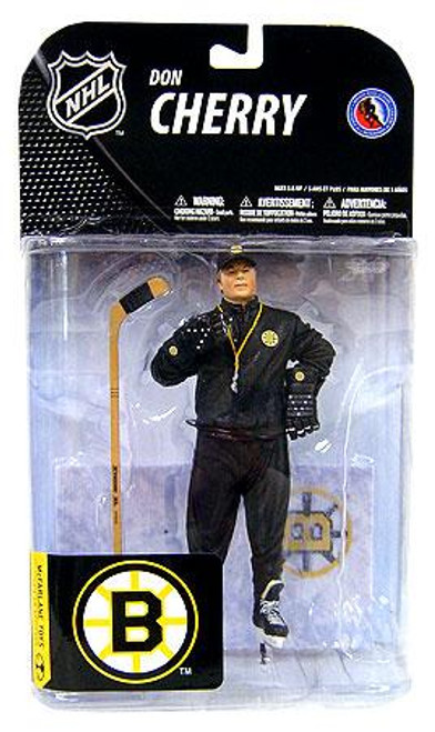 McFarlane Toys NHL Boston Bruins Sports Picks Series 19 Don Cherry Action Figure