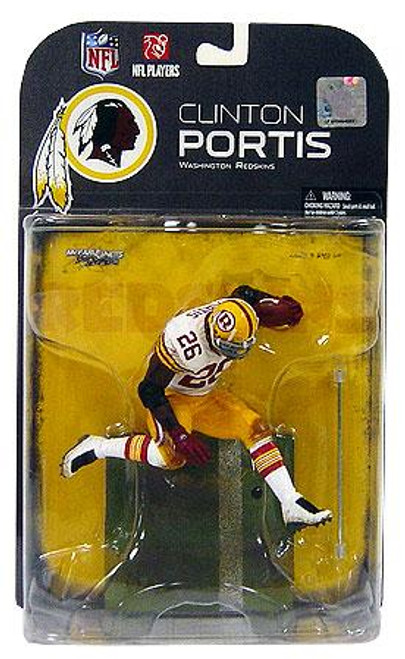 McFarlane Toys NFL Washington Redskins Sports Picks Series 19 Clinton Portis Action Figure [Dirty Uniform]