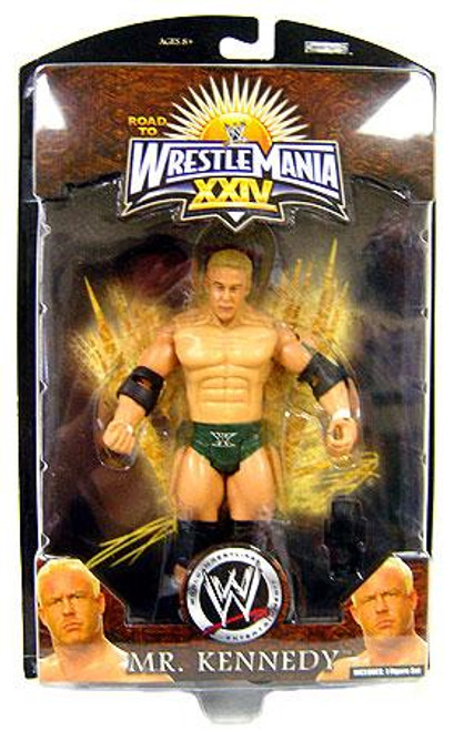 WWE Wrestling Road to WrestleMania 24 Series 1 Mr. Kennedy Exclusive Action Figure