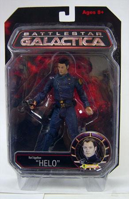 Battlestar Galactica Karl Agathon Exclusive Action Figure [Helo]