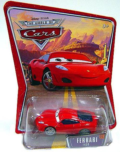 Disney Cars The World of Cars Series 1 Ferrari F430 Diecast Car