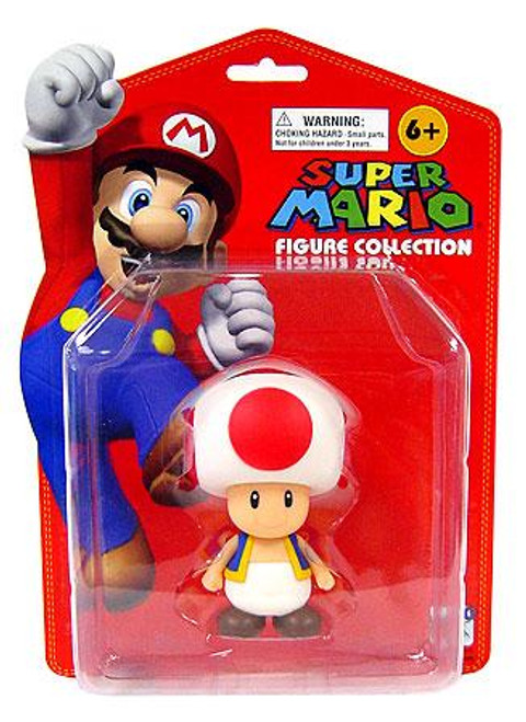 Super Mario Series 1 Toad 5-Inch PVC Figure