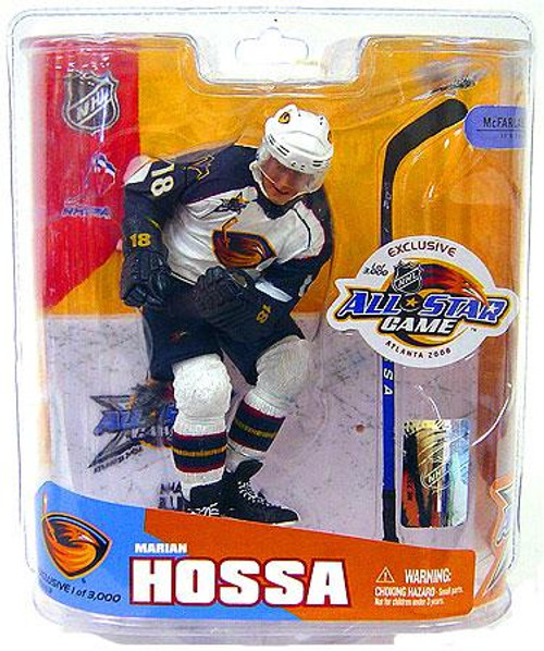 McFarlane Toys NHL Atlanta Thrashers Sports Picks Exclusive All Star Game Marian Hossa Exclusive Action Figure