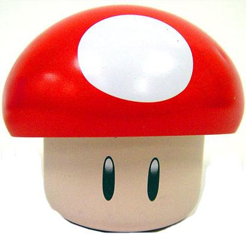 New Super Mario Bros Wii Red Mushroom Candy Tin [Cherry Sours]