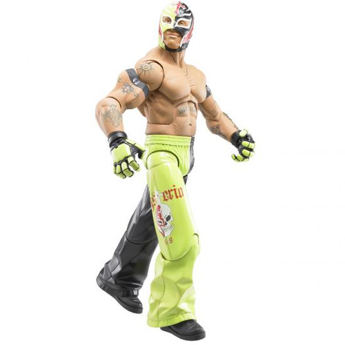 WWE Wrestling Maximum Aggression Series 1 Rey Mysterio Action Figure