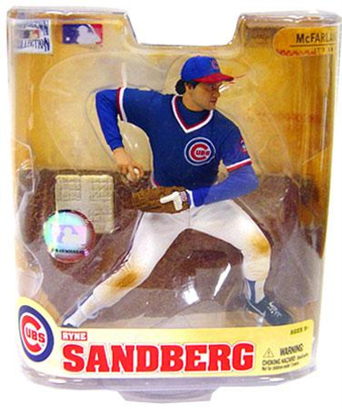 McFarlane Toys MLB Chicago Cubs Cooperstown Collection Series 5 Ryne Sandberg Action Figure [Blue Jersey]