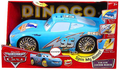 Disney Cars Lights & Sounds Lightning McQueen 14-Inch Vehicle [Bling Bling]