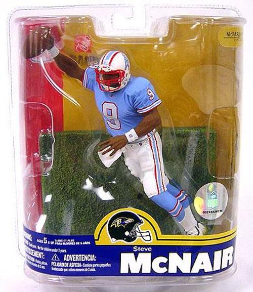 McFarlane Toys NFL Houston Oilers Sports Picks Series 16 Steve McNair Action Figure [Retro Oilers Variant]