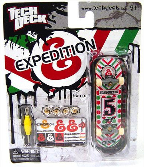 Tech Deck ExpeditionOne 96mm Mini Skateboard [Red & Green]