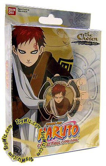 Naruto Card Game Chosen Gaara's Gale Force Theme Deck [Deck A]