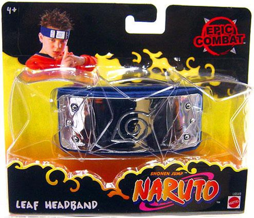 Naruto Epic Combat Leaf Headband Roleplay Toy
