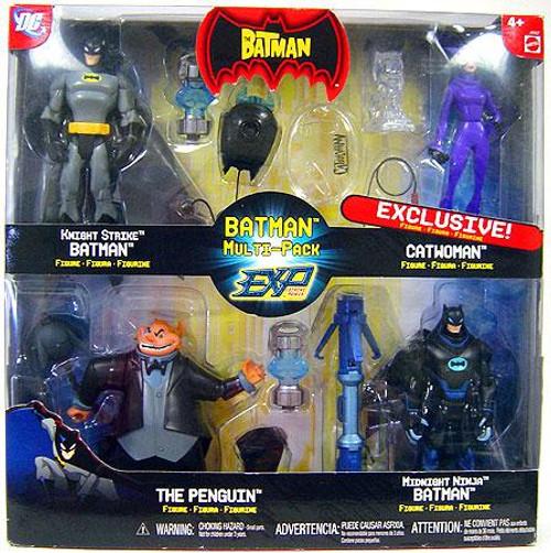The Batman EXP Extreme Power Deluxe Batman Multi-Pack Exclusive Action Figure 4-Pack
