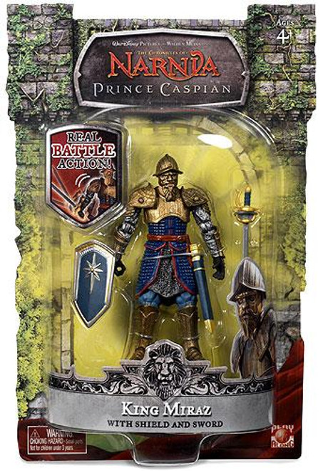 The Chronicles of Narnia Prince Caspian Final Battle King Miraz Action Figure