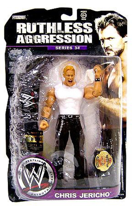 WWE Wrestling Ruthless Aggression Series 34 Chris Jericho Action Figure