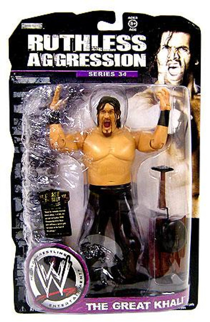WWE Wrestling Ruthless Aggression Series 34 The Great Khali Action Figure