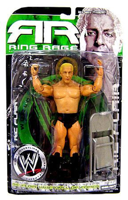 WWE Wrestling Ruthless Aggression Series 34.5 Ring Rage Ric Flair Action Figure