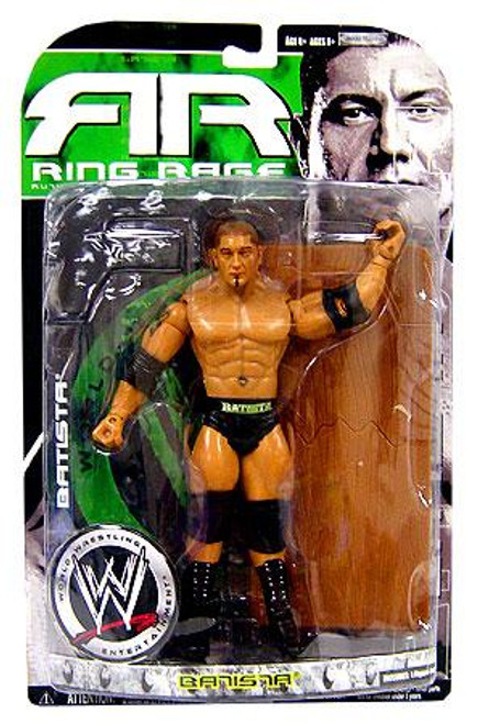 WWE Wrestling Ruthless Aggression Series 34.5 Ring Rage Batista Action Figure