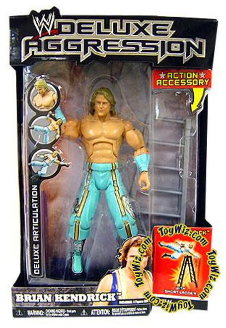WWE Wrestling Deluxe Aggression Series 14 Brian Kendrick Action Figure