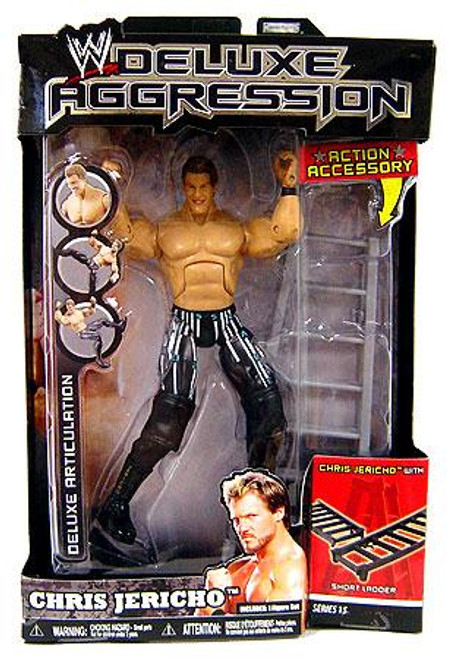WWE Wrestling Deluxe Aggression Series 15 Chris Jericho Action Figure