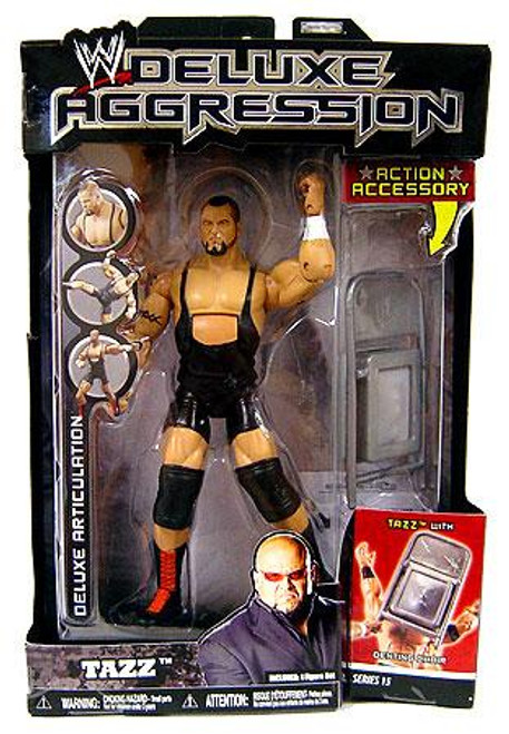 WWE Wrestling Deluxe Aggression Series 15 Tazz Action Figure