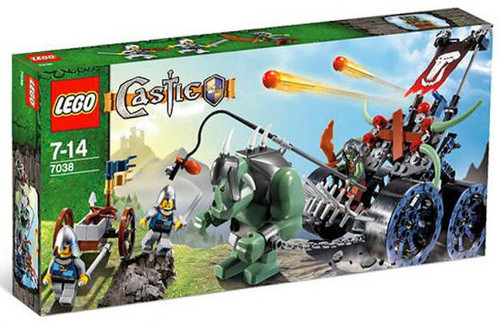 LEGO Castle Troll Assault Wagon Set #7038