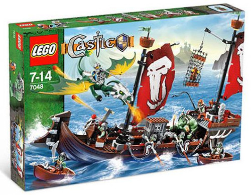 LEGO Castle Troll Warship Set #7048