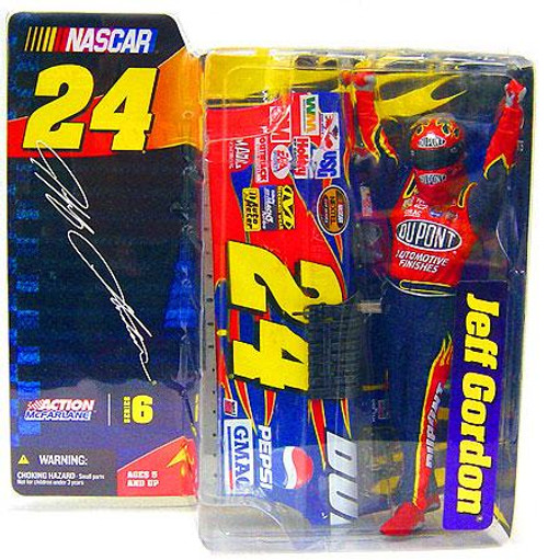 McFarlane Toys NASCAR Series 6 Jeff Gordon Action Figure