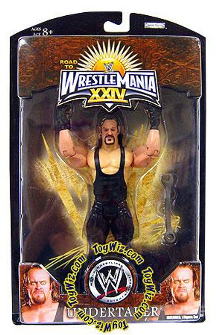 WWE Wrestling Road to WrestleMania 24 Series 2 Undertaker Exclusive Action Figure