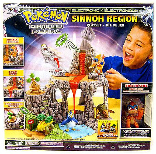 Pokemon Diamond & Pearl Sinnoh Region Exclusive Playset [Version 1]