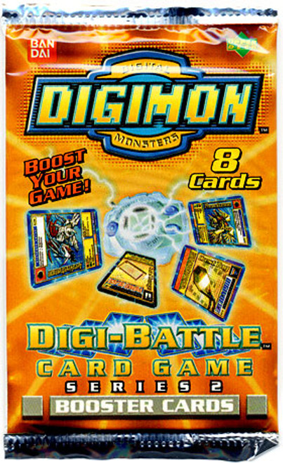 Collectible Card Game Digimon Series 2 Booster Pack
