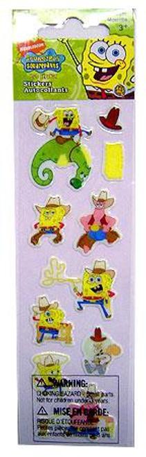 Spongebob Squarepants Cowboy Foam Stickers