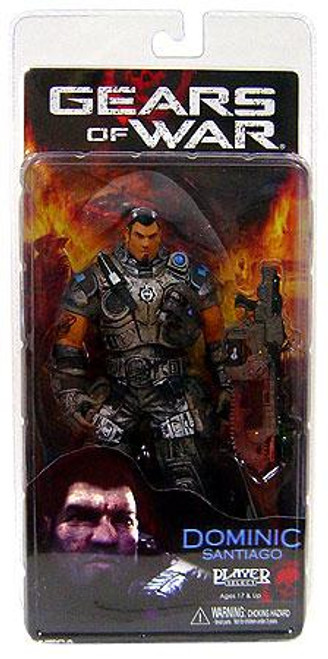 NECA Gears of War Series 2 Dominic Santiago Action Figure