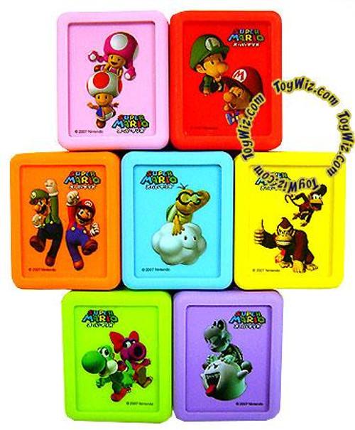 New Super Mario Bros Set of 7 Nintendo DS Game Protectors
