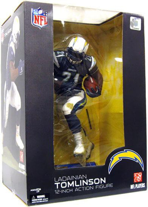 McFarlane Toys NFL San Diego Chargers Sports Picks 12 Inch Deluxe LaDainian Tomlinson Action Figure [Dark Blue Jersey]