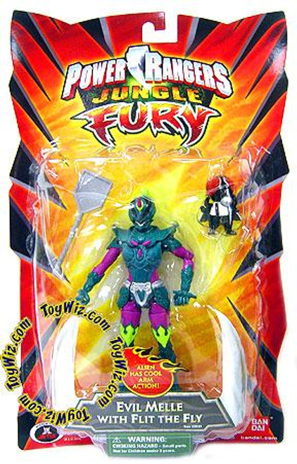 Power Rangers Jungle Fury Evil Melle with Flit the Fly Action Figure