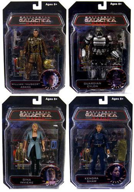 Battlestar Galactica Series 3 Razor Set of 4 Exclusive Action Figures