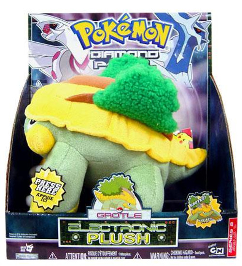 Pokemon 12 Inch Electronic Grotle Plush [Deluxe With Sound]