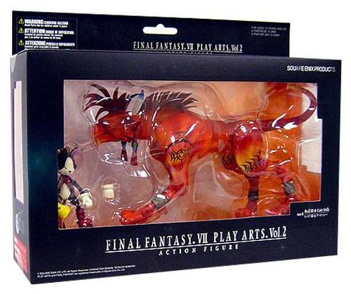Final Fantasy VII Advent Children Play Arts Kai Vol. 2 Red XIII & Cait Sith Action Figure Set